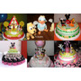 Cupcakes- Torta- Candy Bar Mickey Mouse- Minnie