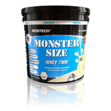 Proteína Gentech 5 Kg Whey Protein 7900 Afa Monster Size Sin Tacc
