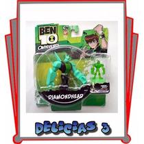 Ben 10 Omniverse Figura Diamondhead 36020 Original Delicias3
