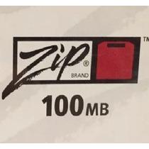 Zip Iomega 2 Discos De 100 Mb Casi No Se Usaron