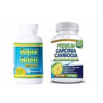 Unica Garcinia Cambogia Premium Y Super Colon Cleanse, Usa
