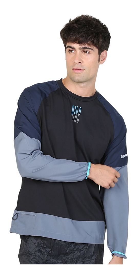 Remera Nike Element Mix Crew 2020210-sc
