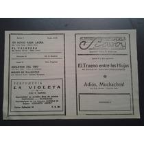 Adios Muchachos Alonso-diaz Programa Original Decada 50