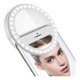 Aro Luz Led Selfie Celular Tablet Pc Linterna Anillo 8.5 Cm