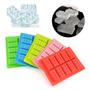Cubetera Hielos Molde Silicona Bloques Lego Rasti