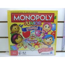 Juego De Mesa Monopoly Junior ¡fiesta! Envio Sin Cargo Caba