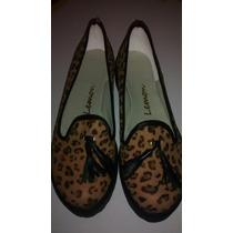 Zapatos /panchas /borcegos Leopardo N7