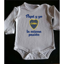 Bodys P/ Bebes Boca Juniors-la Mejor Calidad-algodón Peinado