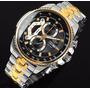 Reloj Casio Edifice Ef-558sg-1av - Calendario Y Cronografo