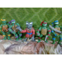 Tortugas Ninjas Adorno Para Torta Porcelana Fria