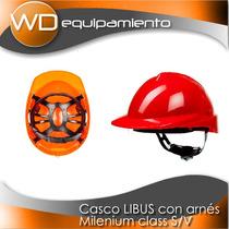 Casco Con Arnès Milenium Class X10 Unidades - Libus