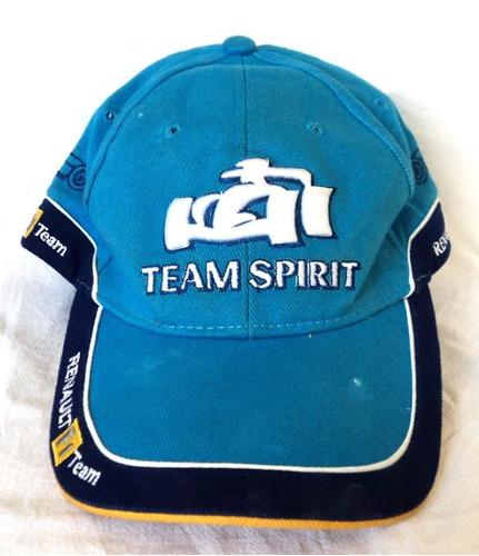 8c83b5233b5db Gorra Formula 1 Team Spirit Renault F1 Team Original Visera
