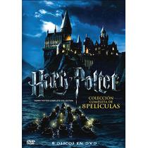 Dvd Harry Potter Colección Completa - Box Set - 8 Dvds