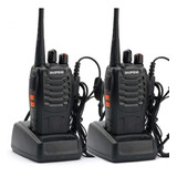 Kit X 2 Handy Baofeng Radio Walkie Talkie Bf888s 16ch - Uhf