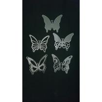 Mariposas De Acrílico Corte Laser.
