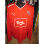 Excelente Remera De Independiente Puma Ml Tcl Nueva Roja !!!