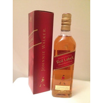 Whisky Johnnie/johnny Walker Red Label X 1l -importado-