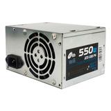 Fuente Noganet Noga 550 W Pc Atx Sata Cooler Pcio Esp Xmayor