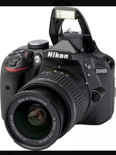 Camara Fotográfica Réflex Nikon D3400 Con Kit 18 55