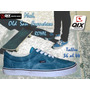 Zapatillas De Skate Qix Old San Francisco Azul Royal