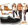 Zapatillas De Skate Qix Mod. San Francisco Black