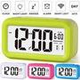 Reloj Despertador Led Luz Snooze Varios Colores Smart Clock
