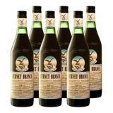 Fernet Branca X 1 Litro Caja X6 Botellas 1000ml Bebidas Pack