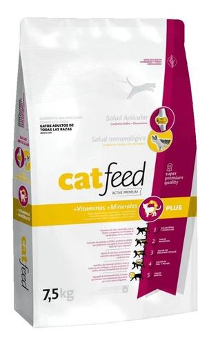 Alimento Cat Feed Gatos X20kg  Super Premium