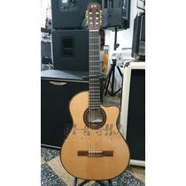 Guitarra Clasica La Alpujarra 85 Kec Eq C/estuche Rigido Skb