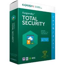 Licencia Kaspersky Total Security 2016 3 Dispositivos 1 Año