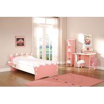 Cama De Princesas Para Nenas De 1 Plaza