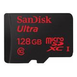 Tarjeta De Memoria Sandisk Sdsdqua-128g-a46a Ultra 128gb