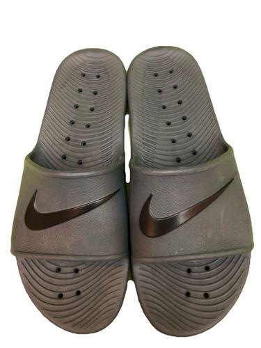 size 40 0dddd 06b6f Ojotas Nike Kawa Shower Hombre Gris