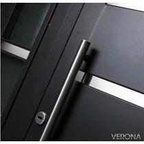 Portada Puerta Y Media Residencial Vidriada Verona Pavir