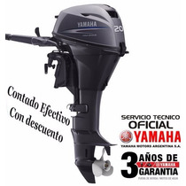 Motor Yamaha 20 Hp 4 Tiempos Pata Corta