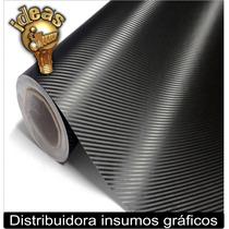Vinilo Fibra Carbono 152x1mts Autos/capot/techo Moto Ploteos