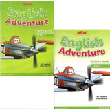 New English Adventure 1 - Pupil´s Book And Activity Book