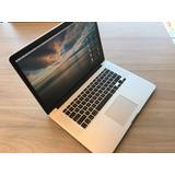 Macbook Pro Retina 15 2014 I7 2.2 16g 250 Ssd