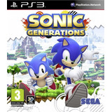 Sonic Generations Ps3 Digital Juego Ps3 Para Chicos Chokobo