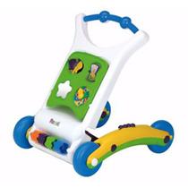 Caminador Andador Rondi Bebé 3 En 1 First Steps Didáctico