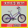 Bicicleta Dama Cross Kelinbike Rodado 20 Lila