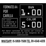 Fotocopias-imp (color / B&n).alquiler De Impresoras Eventos