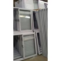 Ventana De Aluminio De 1.00x1.00