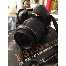 Nikon D3100 18-55 (sd De 16gb Con Wifi)