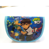 Bolsito / Bolsa / Cartuchera Ben 10 - Ideal Souvenir- X 10