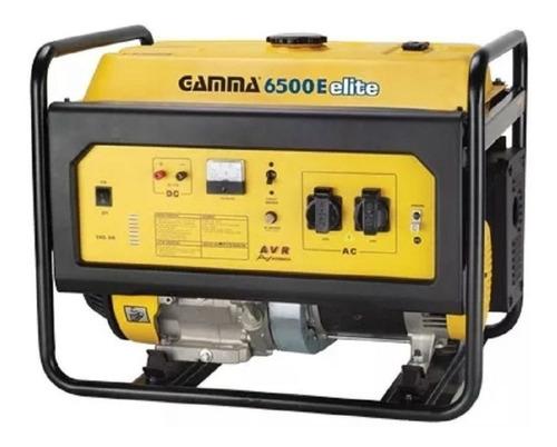 Generador Portátil Gamma Ge3458 6000w 220v