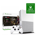 Consola Microsoft Xbox One S 1tb 4k + Pes 2019 Cuotas Full