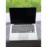 Macbook Pro 13 256ssd I3 2.7ghz Early 2015 Mf840ae/a