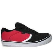 Zapatilla Rusty Asil Red Black De Skate & Surf *zona Munro*