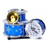 Bateria Musical Infantil Niños C/ Platillo Tambores Dia Niño